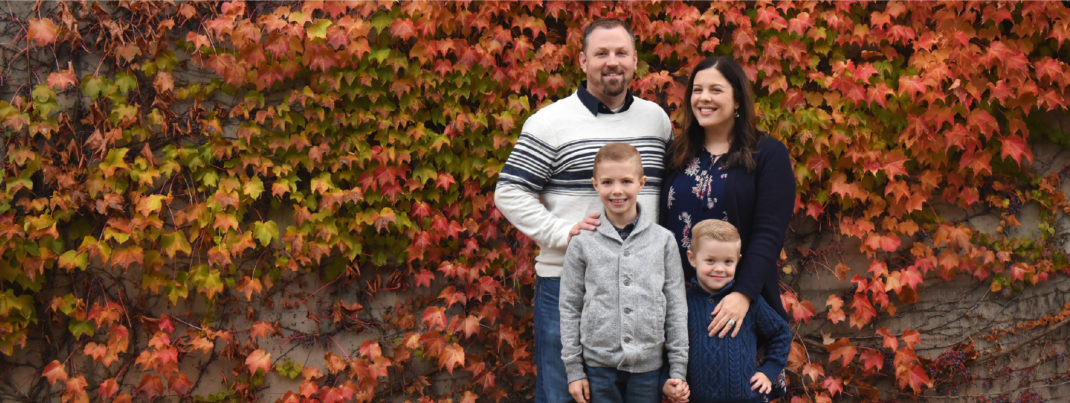 Family in the Fall