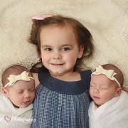 Newborn Session | Emerie & Willa